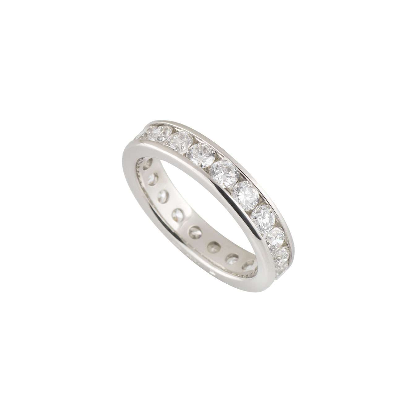 Platinum Diamond Full Eternity Ring 2.00ct G-H/VS